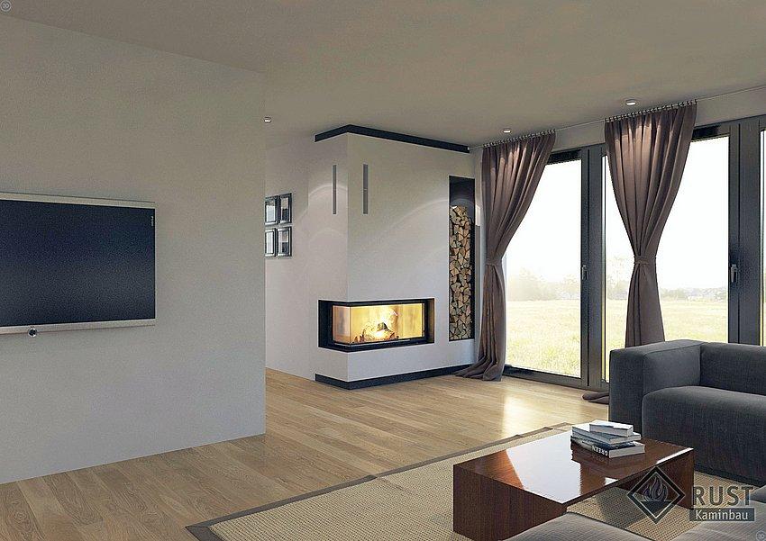 eckkamin steinkorb eckkamin steel fireplace eck kamin s. Black Bedroom Furniture Sets. Home Design Ideas
