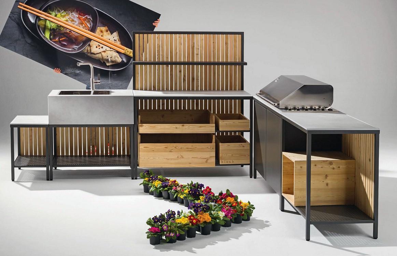 Outdoor Küche Block : Outdoor küche insel gartenideen garten küche insel