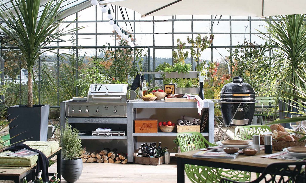 Outdoor Küche Kaufmann : Alfer outdoor küche fertige outdoor küche