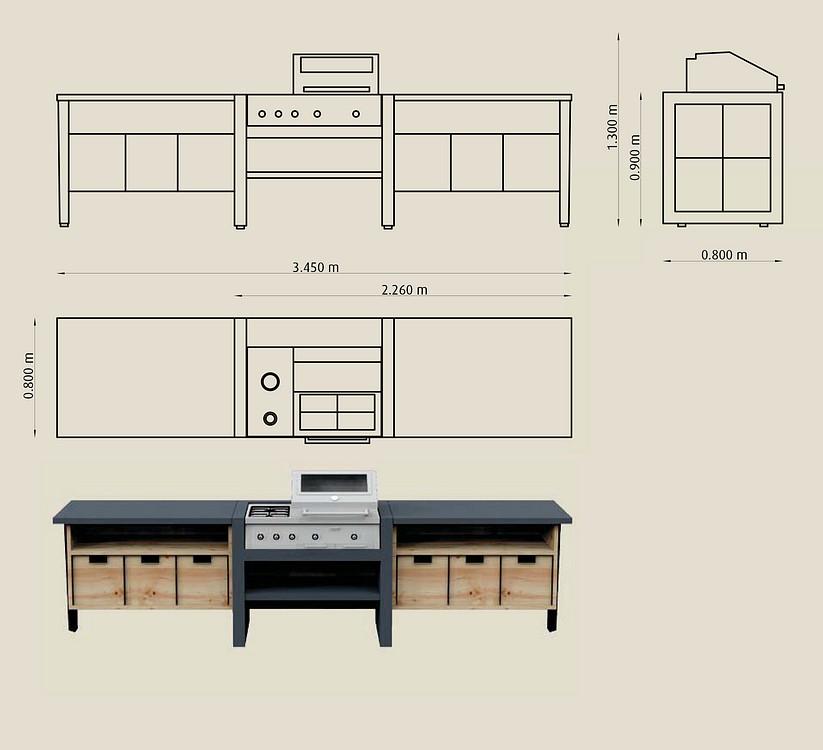 garten grill k che t bonerust kaminbau. Black Bedroom Furniture Sets. Home Design Ideas