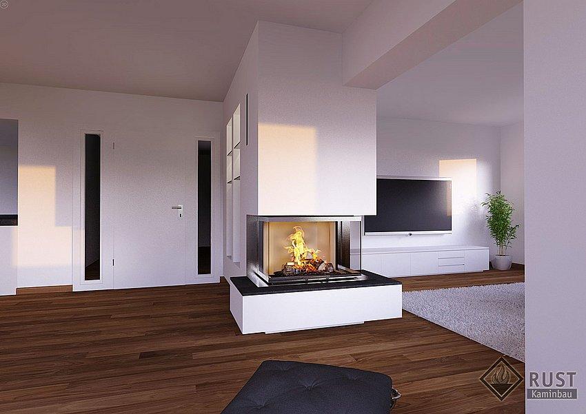 Großartig Kamin Panorama Bestand An Wohndesign Design